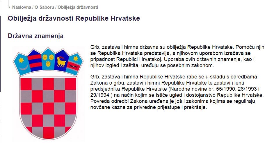 Krivotvoreni Hrvatski Grbovi Svuda Oko Nas Hrvatska